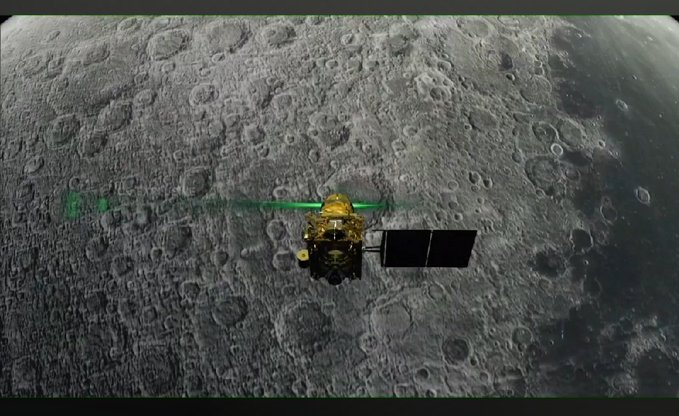 India Loses Contact With Chandrayaan-2 Mission During Moon Landing Attempt