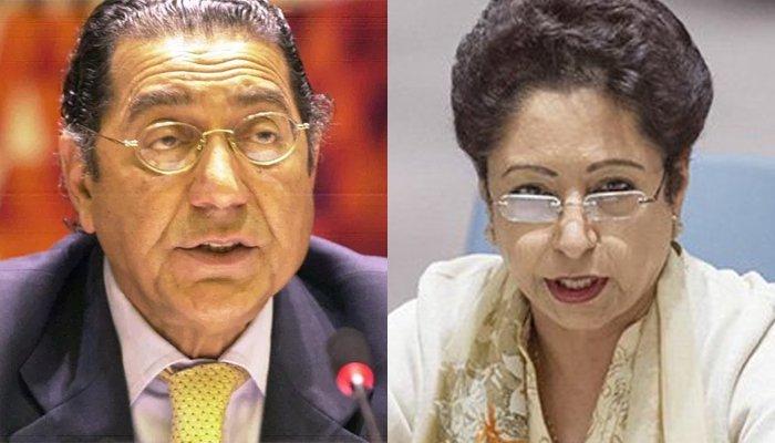 Munir Akram replaces Maleeha Lodhi as Pakistan's representative to UN